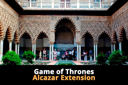 Alcazar and Game of Thrones Sevilla Walking Tours