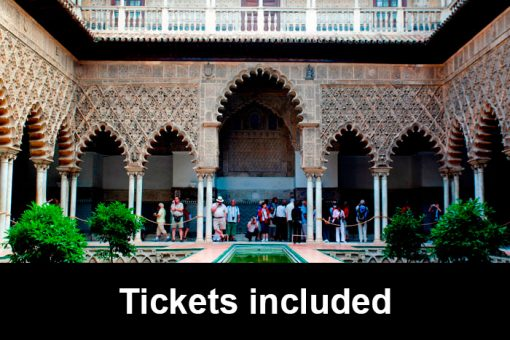 Alcazar Tour with tickets
